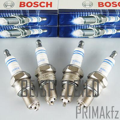 4 x Original BOSCH Zündkerzen 0242229699