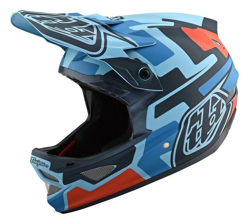 Troy Lee Designs D3 Helmet Fiberlite  TLD BMX MTB Downhill DH Gear SpeedCode bluee  will make you satisfied