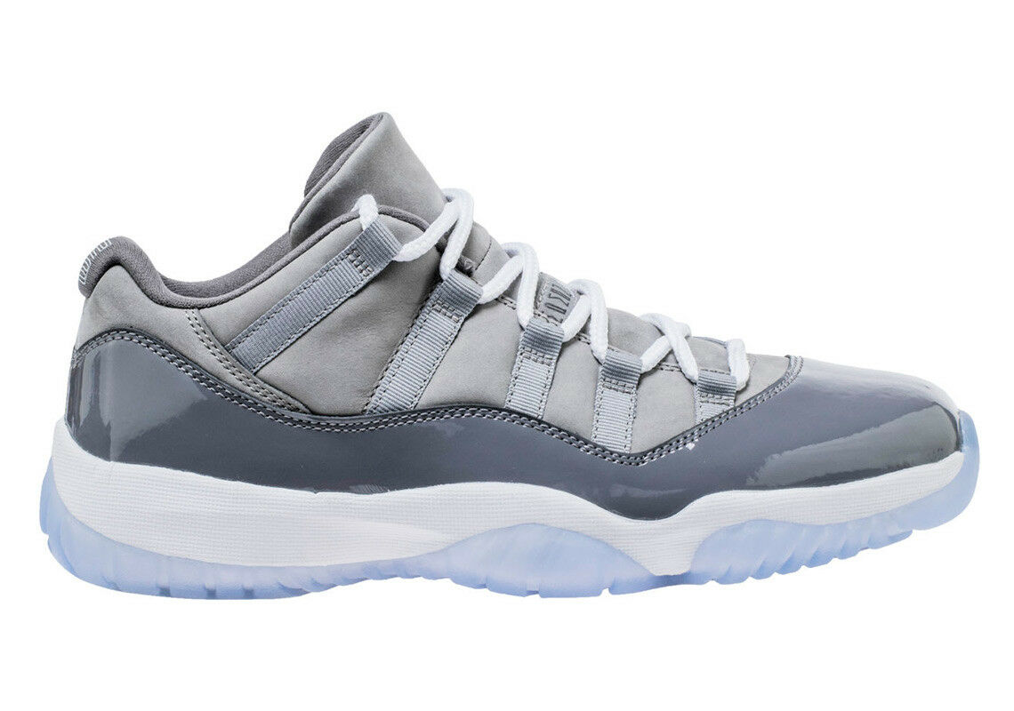 2018 Nike Air Jordan 11 XI 11 Retro Low OG SZ 11 XI Cool Gris blanc Smoke 528895-003 16da62