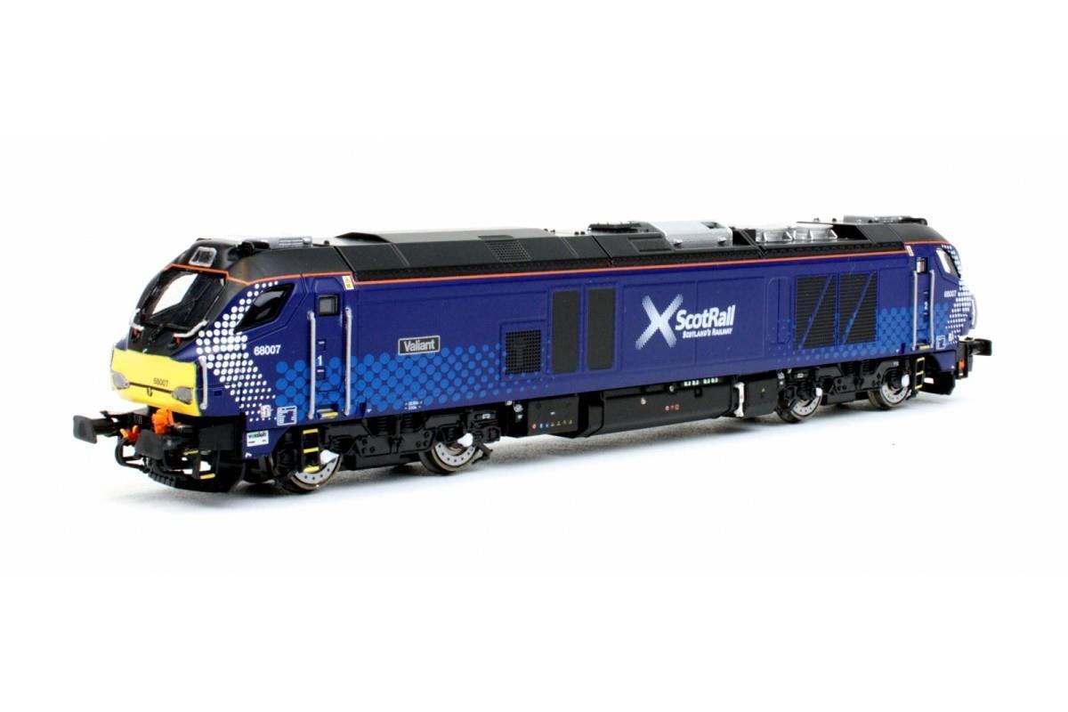 Dapol - 2D-022-006 - Class 68 68007 'Valiant' Scotrail N Gauge