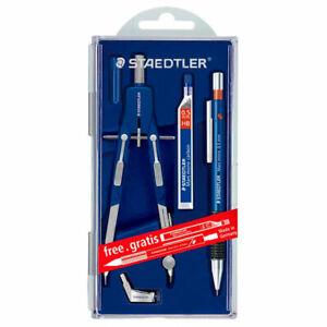 Zirkel + Ersatzmienen, Spider Staedtler Zirkel-Set