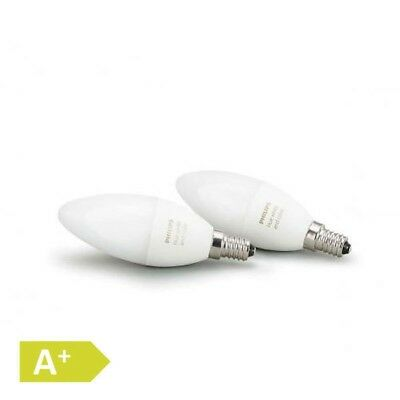 Philips Hue White and Color Ambiance LED E14 Doppelpack RGBW 6,5 W Lichtssystem