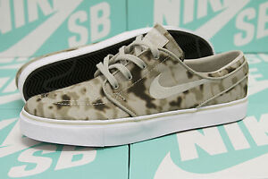 online store be658 280f2 Image is loading Nike-SB-Zoom-Stefan-Janoski-DESERT-CAMO-Medium-