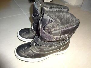 wie-NEU-WINTER-STIEFEL-Wasserdicht-Schnee-Stiefel-schoen-warm-Gr-34-LIDL