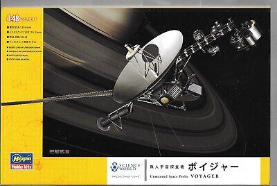 Hasegawa Unmanned Space Probe Voyager In 1/48 54002 St Prezzo Di Strada