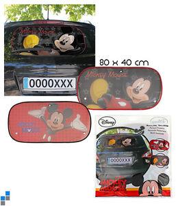 Disney-Mickey-Mouse-Auto-Universal-Heckscheiben-Scheibe-Sonnenschutz-NEU-und-OVP