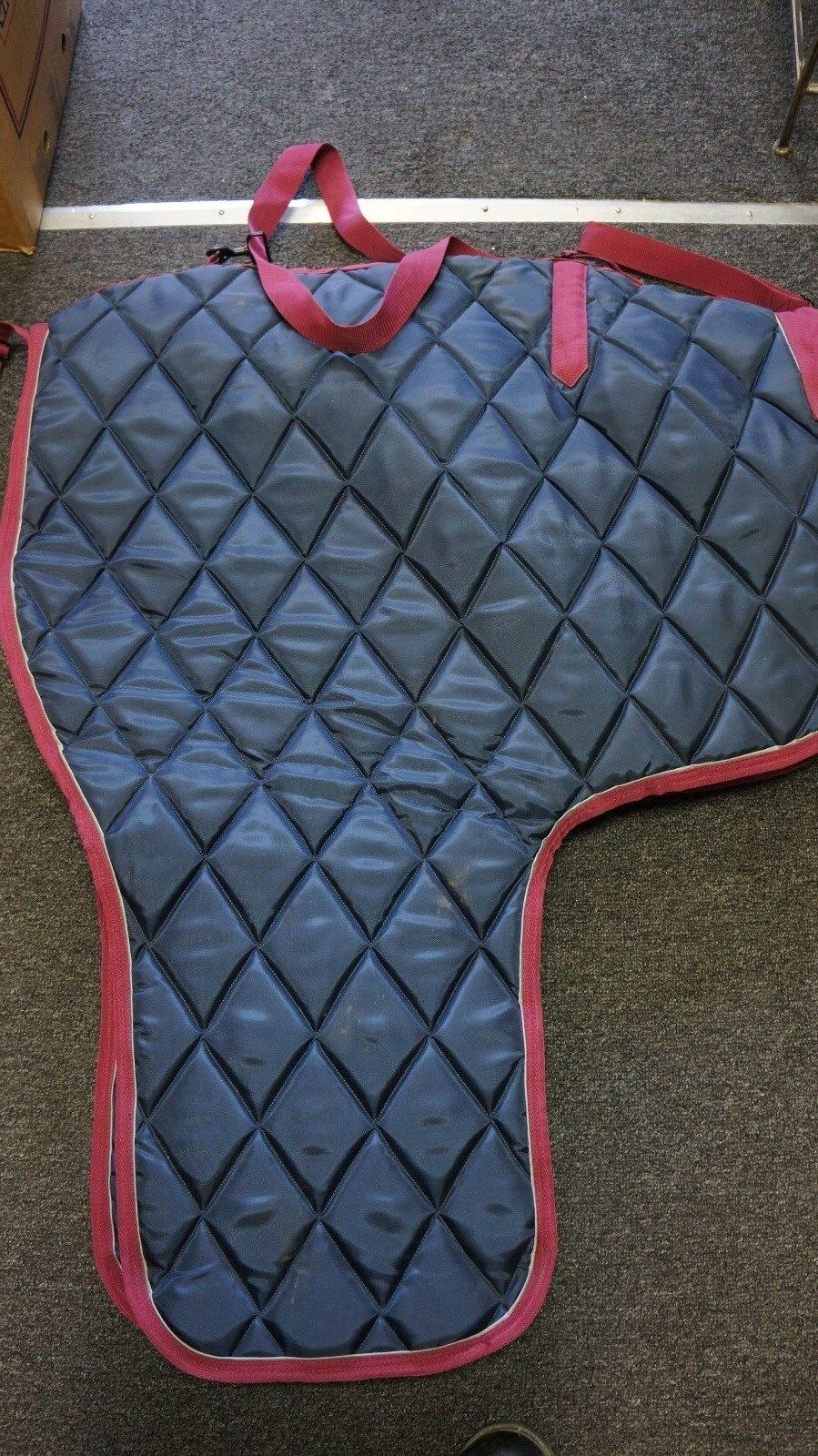 Heavy Weight Saddle Carrier for Western Saddle Quilted blueE