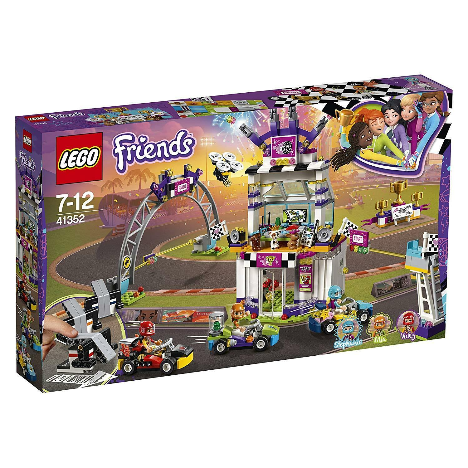 LEGO Friends  The Big Race Day Building Set 41352 NEW Neuf dans sa boîte