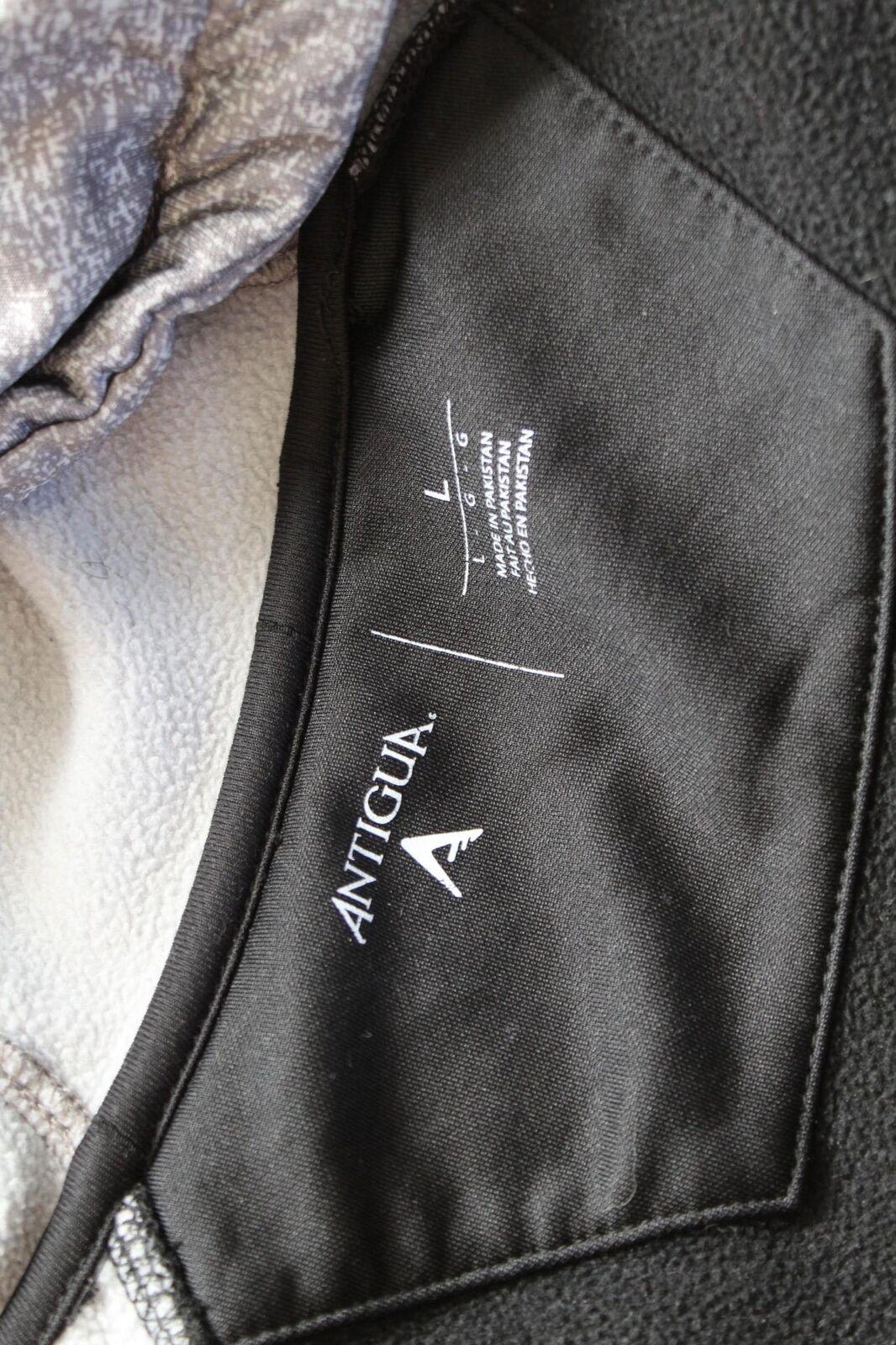 Carolina Panthers Gray Black Printed Zip Front Ho… - image 4