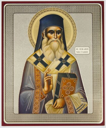 John Sergiy Spiridon Georgiy Apostol Andrerw Religioso Icone da Nome Nickolay S