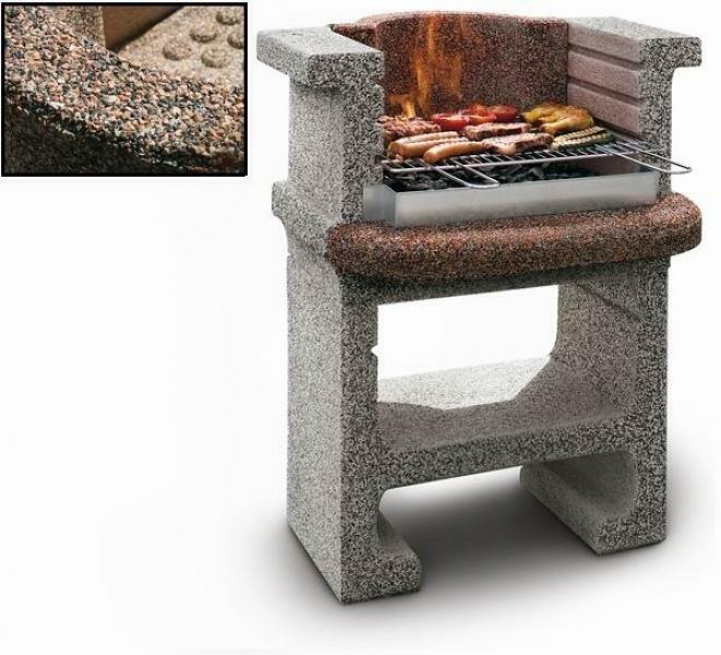 Barbecue per esterni modello tebe palazzetti sottocosto fuoritutto