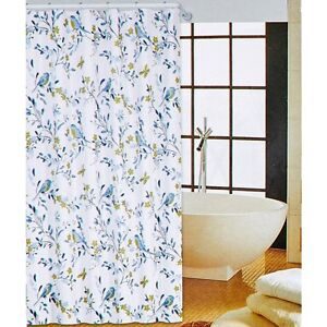 Image Is Loading VIVATEX LOVELY FLORAL Amp BIRDS SHOWER CURTAIN