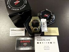 New Casio G Shock Watch GW9400-3 Master of G Rangeman Triple G Sensor Green