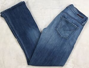 Citizens-Of-Humanity-Kelly-Low-Rise-Boot-Cut-Jeans-Stretch-Whiskers-Size-24x27