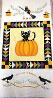 Halloween Fabric Panel Not So Spooky Fabric Henry Glass Fabric 8310