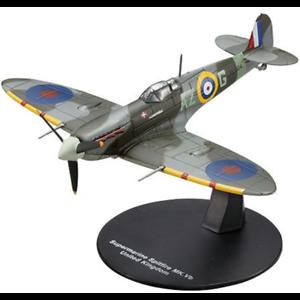 Ixo-Deagostini-1-72-Raf-Supermarine-Spitfire-Mk-vb-MK5B-Luchador-Coltishall-1942