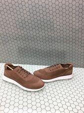 Vionic Orthaheel FRESH JOEY Nubuck Leather Lace-Up Sneakers DUSTY PINK 8 W NIB