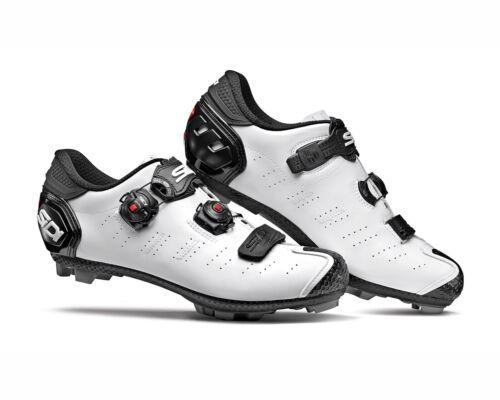 SIDI Dragon 5 SRS MTB Shoes Size: 39~47 EUR White//Black