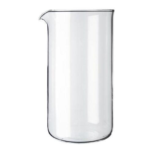 Bodum trasparente in vetro di ricambio caffettiera Becher 3 TAZZE 0.35L 12oz pacco da 2