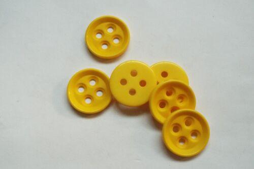 8pc 30mm amarillo canario Abrigo Chaqueta Cardigan Pantalón Niño botón 0807