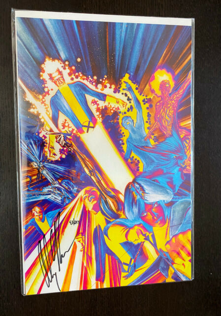 NEW MUTANTS #1 (2009) -- Alex Ross SIGNED Dynamic Forces DF Variant -- #93/299