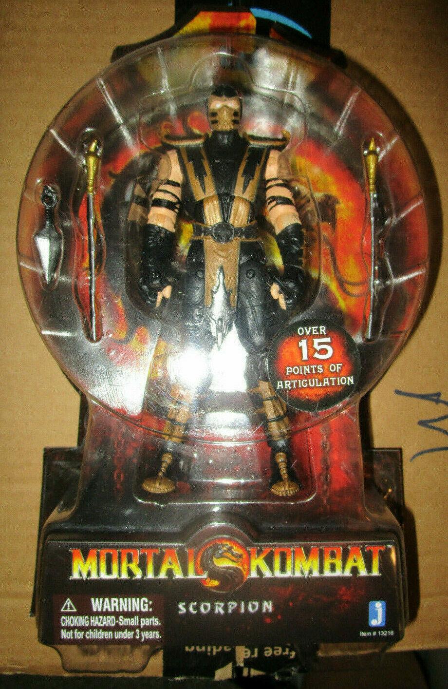 Mortal Kombat 20TH aniversario Scorpion Figura JAZWARES 2011