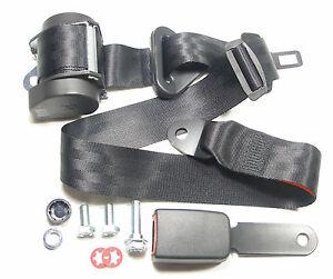 Automatik-3-Punkt-Sicherheitsgurt-Mercedes-R-107-SL-SLC-New-Seatbelt