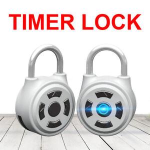 Details about Multipurpose Electronic Medium security Timer Lock Padlock  Time Safe w random