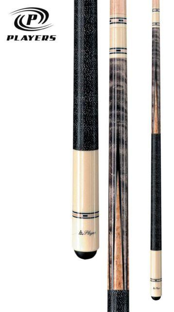 NEW Players C-9921 Pool Cue Stick - Smoke Stain Maple  -18 19 20 21 oz -WARRANTY