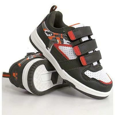 BOYS SCHOOL SHOES GIRLS SHOCK ABSORBING BOOTS SKATE TRAINERS BACK TO SCHOOL SIZE
