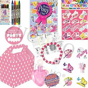 Childrens kids pre filled party bags favors