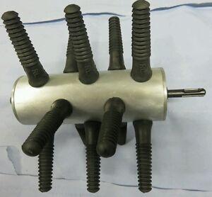 Rupfmaschine-Gefluegel-Huhn-Huehner-Gaense-Enten-mit-SDS-PLUS-Aufnahme-Plucker