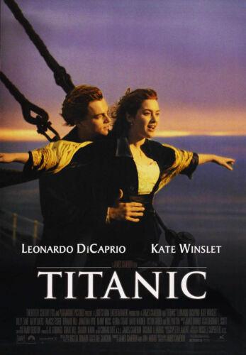 24X36Inch Art TITANIC Movie Poster Leonardo DiCaprio RARE P31