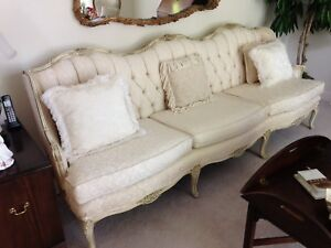 french provincial sofa ebay rh ebay com french provincial sofa and loveseat french provincial sofa slipcovers