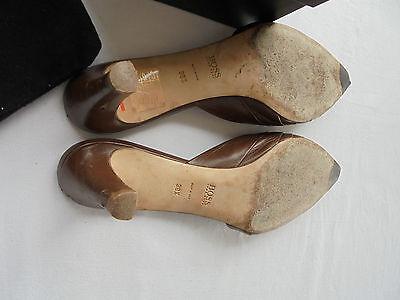 * Feine Hugo Boss Leder Sandaletten NP: 240EUR Schuhe Pumps Gr. 38 38,5 39