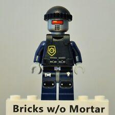 New Genuine LEGO Robo SWAT Minifig The Lego Movie 70808 70813