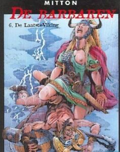 Barbaren-6-De-laatste-Viking-Mitton-Hardcover-1ste-druk