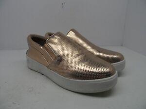 5052cd72f43 Steve Madden Women s Genette Platform Slip On Sneaker Rose Gold ...