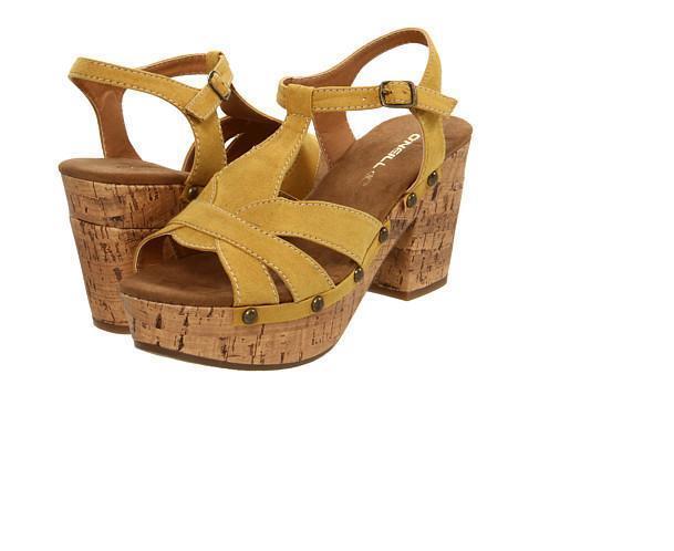 O'NEILL Women's CASSIDY Sandals - YEL - Size 10 - NIB