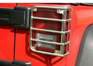 Rugged-Ridge-11103-03-Taillight-Guard-Fits-07-16-Wrangler-JK