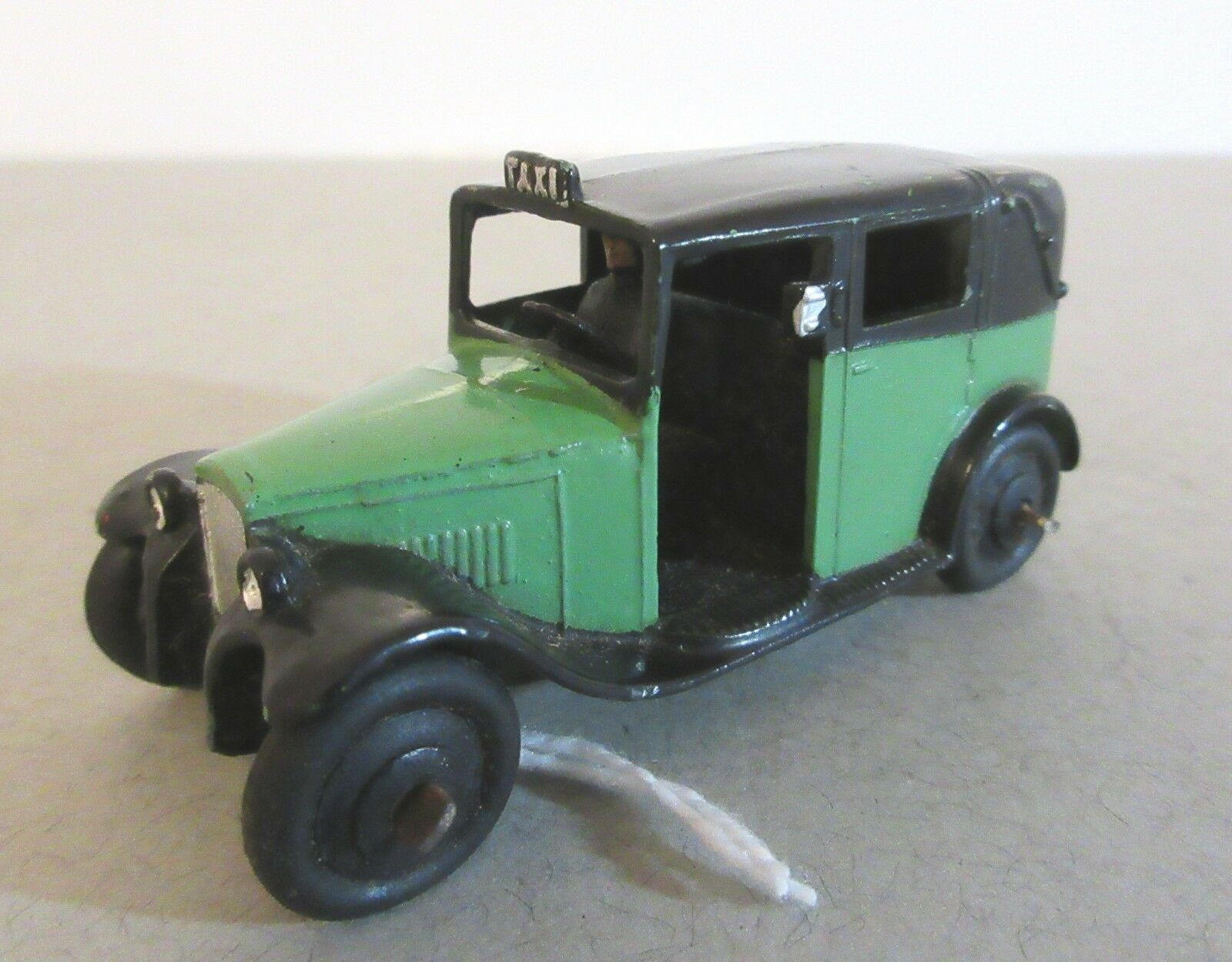 Early Dinky Juguetes London Taxis Taxi Con Driver-Dinky Juguetes transporte público