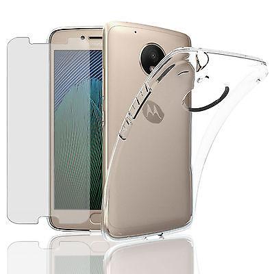 Handy Hülle + Panzer Glas für Motorola Moto Handy Tasche Panzer Folie Case Etui