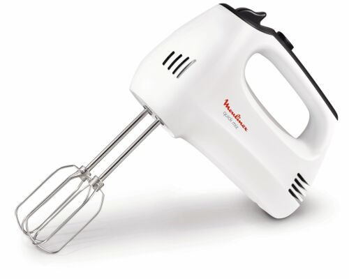 Moulinex HM3101 Quick Mix Sbattitore Elettrico con Fruste e Ganci Impastatori