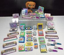 Littlest Pet Shop Custom Accessories Lot of 7 Laptop Cellphone Keyboard Game  #4