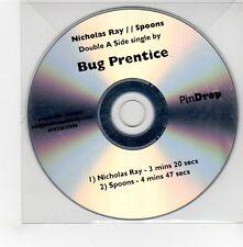 (GE548) Bug Prentice, Nicholas Ray / Spoons - DJ CD