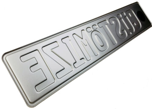Great Britain Custom License Plate