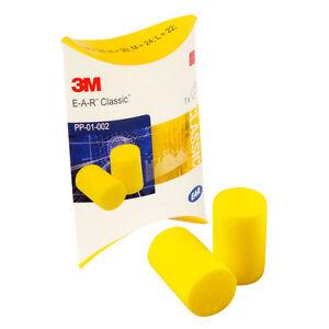 20-Pairs-of-3M-EAR-Classic-Foam-Ear-Plugs-FREE-UK-P-amp-P