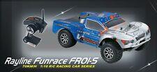 RC Auto funrace 01s-d 70 km/h 4wd sagomate BRAVO PRO CAR BUGGY da postazione remota NUOVO