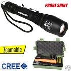 8000 Lumens CREE XM-L T6 LED 18650 Zoomable Focus Rechargeable Flashlight Torch