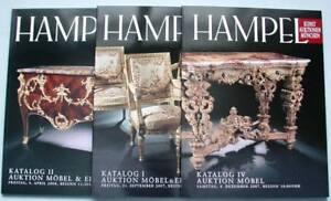3-Aukt-katalog-Hampel-Moebel-Einrichtung-18-Jh-Konsole-Tische-Spiegel-Schraenke